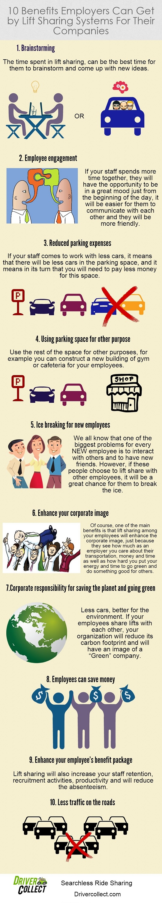 Lift Sharing: 10 Benefits Employers Can Get For Their Companies