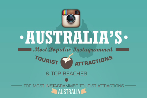 Australia's Most Popular Instagrammed Tourist Attractions & Top Beaches