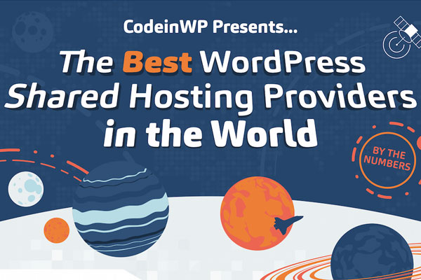 The Best WordPress Shared Hosting Providers By the Numbers