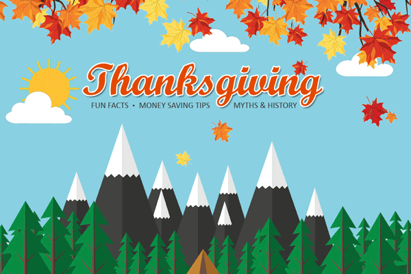 Thanksgiving Guide – Fun Facts, Money Saving Tips, Myths & History