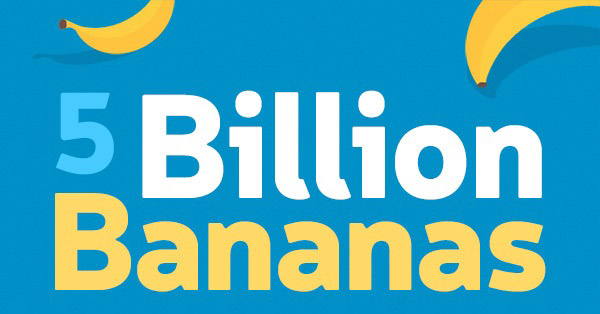 5 Billion Bananas: Sums With Storage Containers